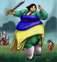 Plus-Size Mulan by Ray-Norr