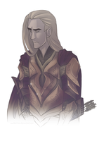 Thranduil by noodlerface