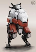 mecha3 by legowosnake