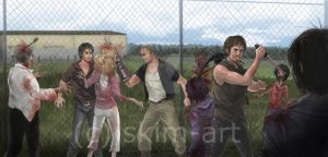 The Walking Dead: Home ( Dixon Brothers ) by SkiM-ART