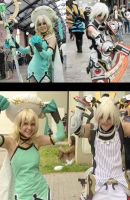 Haseo and Atoli Cosplay by Brillita