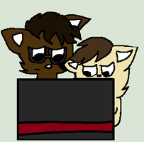 Leonard and Sheldon play Five Nights at Freddy's by TimeyWimeyHolmes1994