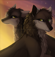 The Twins by Jetera