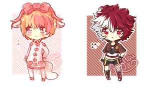 [CLOSED] Humanoids [Points/Paypal Set Price] by Shu-Adopts