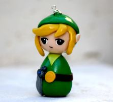 Legend of Zelda link chibi kokeshi by chikipita
