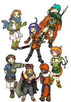 Fire Emblem Hobo Association by boowazz