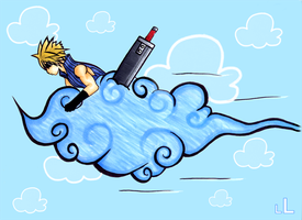 Cloud Cloud to the Rescue by LittleLetty