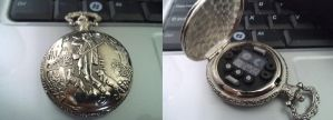 Dr Who prop, Fob Pocket Watch by Hordriss