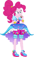 Legend of Everfree: Crystal Gala Pinkie Pie by ImperfectXIII