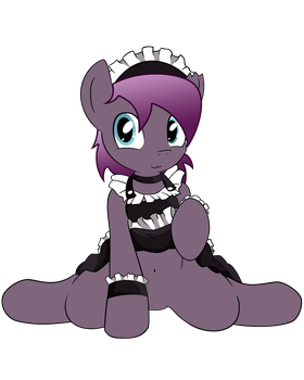 French maid tease by FluffyTuli