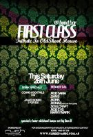 First Class - Event Flyer by xeon-art