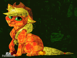 Applejack Kitten by Puffleduck