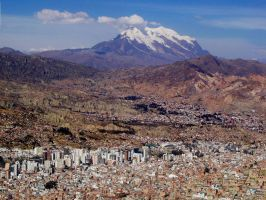 Illimani by NB-Photo