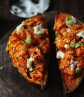 Tahini Sweet Potato Jackets by sasQuat-ch