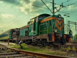 The Train - katowice by Dybcio