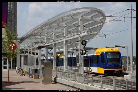 Green Line at Target Field by HerrDrayer