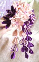 Candy Love Kanzashi by elblack