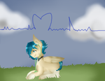 How i feel the music? -comission- by Mexican-cyborg