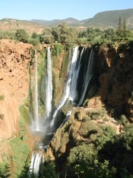 Ouzat Falls (Africa's second largest) Morocco 2013 by agnomination