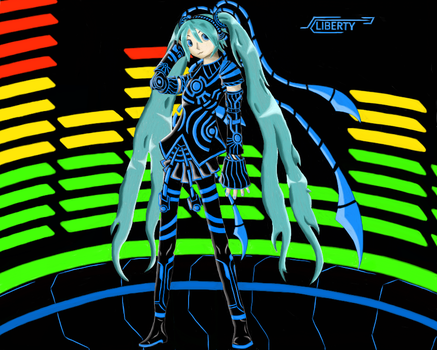 Neon Star Miku by Cassey-B-Liberty