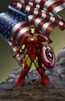 ironman colors by toddrayner