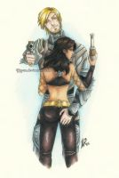 Commission: Joelle and David by Byrsa