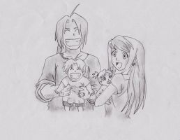 Elric family by CamillaLouiseB