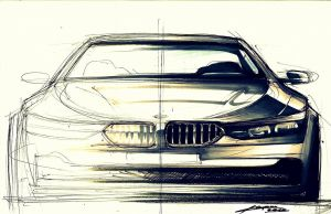 another bmw front view by Chrupson