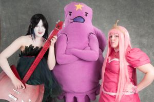 'Come on, Grab Your Friends' - Adventure Time by OxfordCommaCosplay