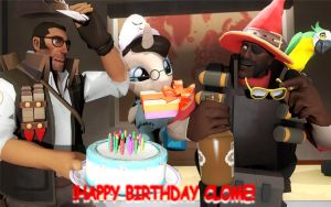 Happy Birthday Clome! by pinrobotkit