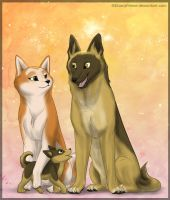 + Doggy Family + by FantaTara