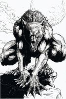 Werewolf by -vassago-