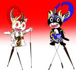 A pair of HTF Indonesian Puppets by BlasitoHtf