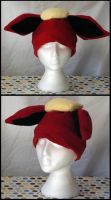 Flareon Hat by RainbowChickenDance