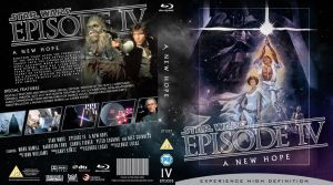 STAR WARS Episode IV Blu-ray cover by MrPacinoHead