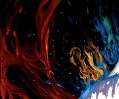 Paint splash by arcipello