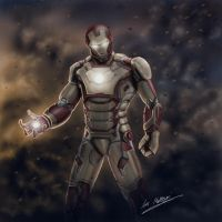 Iron Man Mark 42 by Alienweirdo