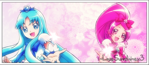 Cure Marine and Blossom by LoveSunshinex3