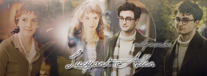 Lucy and Allen [Emma Watson and Daniel Radcliffe] by Milyx4