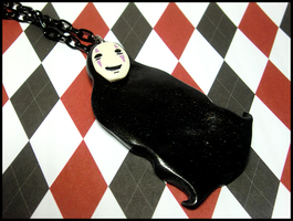 Noface Necklace by GrandmaThunderpants