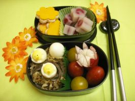 Bento de printemps by ccmidori
