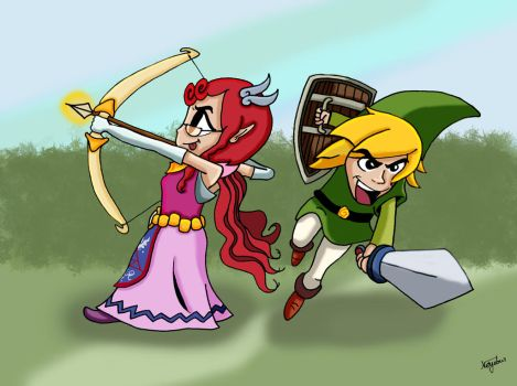 The Legend of Jean and Leo by Neyebur