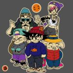 dragon ball crew style by joejr2