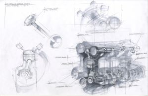 Engine Study by zakforeman