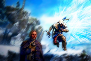 Assassins creed 3 Wallpaper by karriu