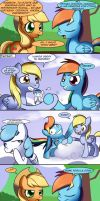 Sisterhooves social. Rainbow Dash by nnxmnd