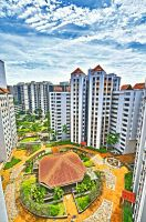 Singapore HDB flats in HDR by bluetears76