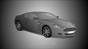 Aston Martin DB9 in Flash by Terror-Inferno