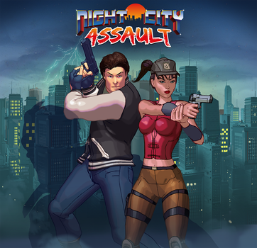 Night City Assault Cindy And Roy 150 by daliborgaric