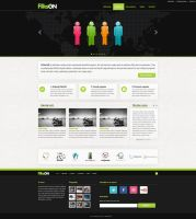 Web site design and layout for a client by djnick2k